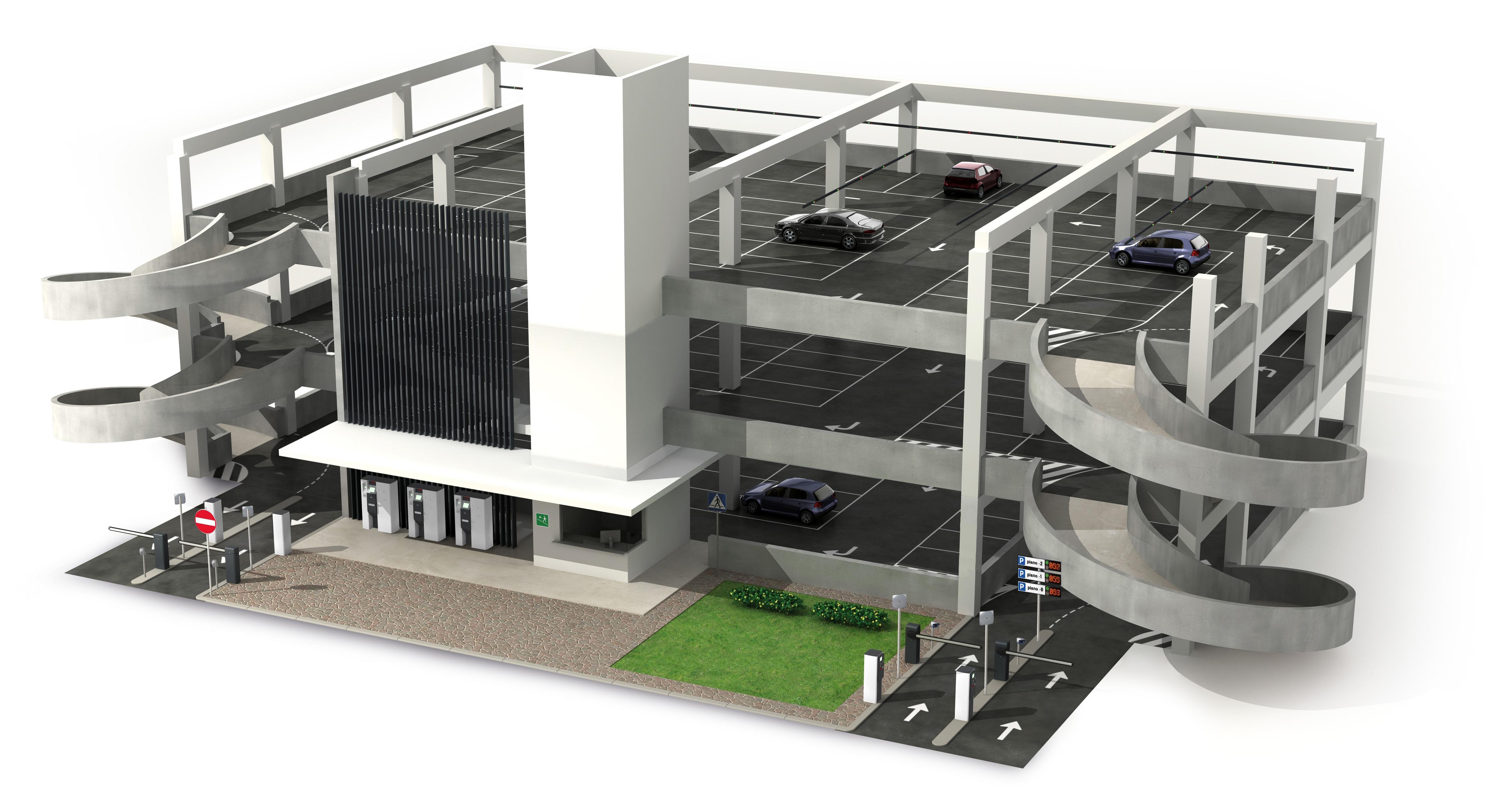 MGA_Render Parcheggio Multipiano